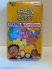 "University Games ""Brain Quest"" States Trivia Card Game Grades 2/3 Educational"