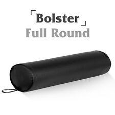 Black Full Round Massage Bolster Comfortable Massage Pillow for Neck/Back/Knees