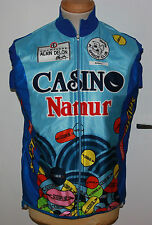 CASINO NAMUR TOUR RAD WESTE WIND JACKE CYCLING JERSEY GR 5 GR 52 TREVIRA FLEECE