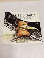 Mouse Guard #1 (2006) 2nd Print Belly Of The Beast  (000314) See Pics