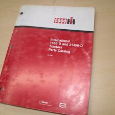 Ih International Case 1456 D 21456 Tractor Parts Manual Book Spare Catalog List