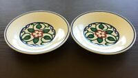 "Pfaltzgraff Arbor Vine Salad Plates, Set of 2, 7 1/4"" Diameter, Excellent Cond."