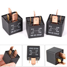 Waterproof Heavy Duty Relay 4Pin DC 24V 12V 80A JD1912 Automotive Car Relay S&K