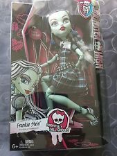 "BRAND NEW IN BOX MONSTER HIGH FRIGHTFULLY TALL GHOULS 17"" FRANKIE STEIN"