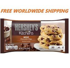 Hershey's Kitchens Milk Chocolate Chips 11.5 Oz WORLDWIDE SHIPPING
