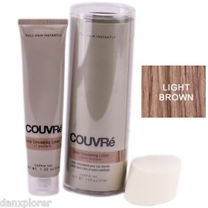 COUVRE ALOPECIA MASKING LOTION, 1.25 oz LIGHT BROWN  (SCALP CONCEILING LOTION)
