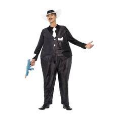 Costumi e travestimenti vestiti taglia unici per carnevale e teatro sul gangster