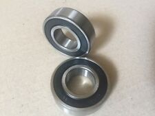 6205RS TWO SIDE RUBBER SEALED BEARING 6205-RS 25mm X 52mm X 15mm lot of 2