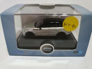 Oxford Diecast 76VEL003 Range Rover Velar SE Silicon Silver 1/76 scale NEW