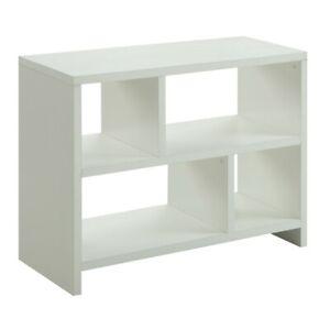 Convenience Concepts Northfield Console Bookcase, White - 111085W