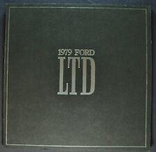 1979 Ford LTD VIP Catalog Brochure Landau, Country Squire Wagon Excellent Orig