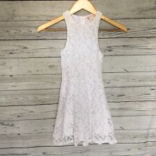 Ruby And Bloom white Lace dress size 7