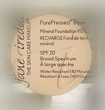 Jane Iredale PurePressed Base Mineral Foundation SPF20 Refill Warm Silk 0.35oz