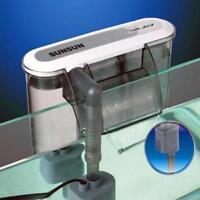 1 External Hang On Surface Skimmer Waterfall Nano Aquarium Fish Tank 220V