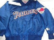 SAN DIEGO PADRES DIAMOND COLLECTION STARTER MLB JACKET Size Large ADULT VINTAGE