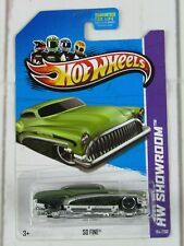 Hot Wheels So Fine Hw Showroom 2013 #X1987 New in Package Green 3+ 1:64