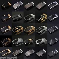 Genuine Leather Men's Automatic Buckle Belts Waist Strap Belt Waistband 51 Style