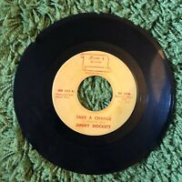 """Northern Soul - Jimmy Dockett """"Take A Chance"""" b/w """"The Lucky Guy"""" 45 Record VG++"""