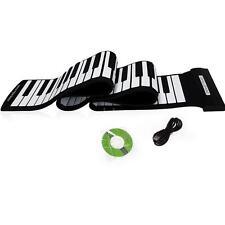 USB 88 Keys MIDI Roll up Electronic Piano Keyboard Silicone Flexible T8K0