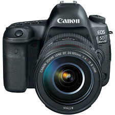 Canon EOS 5D Mark IV Full Frame DSLR Camera + EF 24-105mm f/4L IS II USM Lens