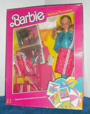 Barbie Doll Vacation Sensation Set #1675 NRFB 1986 Mattel - Sportswear