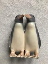 Royal Copenhagen Porcelain Penguin Pair Figurine 091, 49 Denmark Penguins