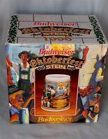 1996 Anheuser-Busch Budweiser Oktoberfest Stein Ceramarte Brazil CS291