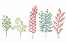 NEW Sizzix Delicate Leaves Die Set - Sizzix Thinlits Dies