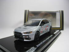 MITSUBISHI LANCER EVOLUTION X RALLIART 1/43 VITESSE (SILVER)