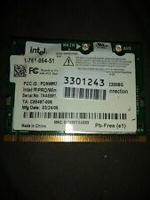Intel PRO Mini PCI Wireless Card WM3B2200B refurbished sealed. Lot of 10.