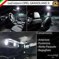 KIT LED INTERNI ABITACOLO OPEL GRANDLAND X CONVERSIONE COMPLETA CANBUS 6000K