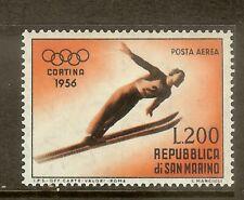San Marino, Scott #C95, 200l Ski Jumper, MH