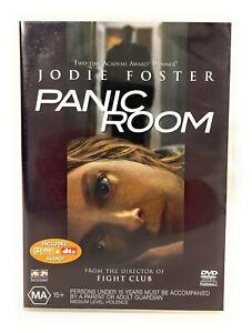 Panic Room (DVD, 2002) Jodie Foster Region 4 Free Postage