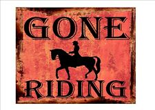 Equestrian Stables Horse Caution Horses Sign  Horses Sign Metal Sign Pony Sign