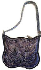 Designer Brentano Owl Bag Purse Handbag Collectible Purple New
