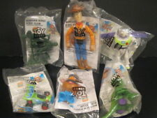 "Toy Story  ""Complete Six Toy Set"" NIP Burger King 1995"