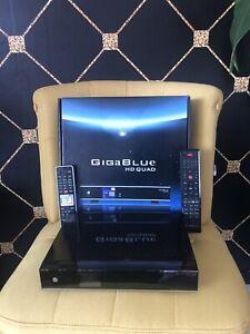 GigaBlue HD Quad, Sat und Kabel Receiver. OVP