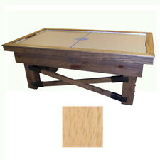 Natural Maple Dynamo Rustic Air Hockey Table