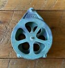 antique downrigger pulley