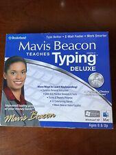 Mavis Beacon Teaches Typing - Deluxe, V.21 - NEW, English & Spanish