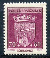 STAMP / TIMBRE FRANCE NEUF N° 529 ** BLASON / BORDEAUX