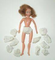 "Vintage White Nylon Doll Panties For 6""-7""-8"" Fashion Doll Miss Dollikin Dawn"