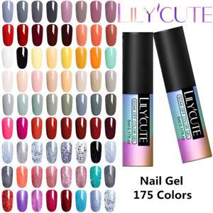 5ml 175 Colors Soak Off UV Gel Nail Polish UV/LED Gel Nails Salon Decor Tool DIY
