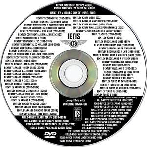 BENTLEY Brooklands IETIS-Repair, Workshop, Service Manual