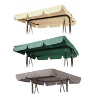 Garden Hammock Cover  Replacement Canopy For Swing Seat 2 & 3 Seater Sizes New