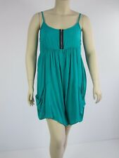Crossroads Ladies Trapeze Zip Playsuit Jumpsuit sizes 12 14 16 18 20 22 Green