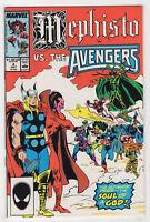 Mephisto vs. ... #4 (Jul 1987, Marvel) [X-Men, Avengers, Hela] Milgrom Buscema X