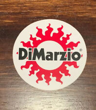 "DiMarzio Strings ""Sun"" Sticker / Decal"