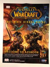 World Of Warcraft Welcome to Azeroth Poster Ultimate Visual Guide 22 x 17 (656A)
