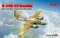 ICM 48281 - B-26B-50 Invader, Korean War American bomber 1/48 scale model kit